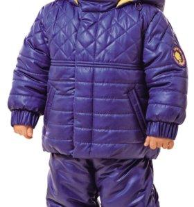 Комплект: куртка с полукомбинезоном