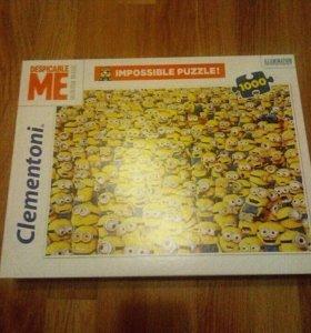 Пазлы Миньоны Clementoni 1000
