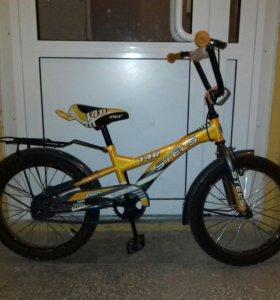 Велосипед для детей от 5 до 9 лет