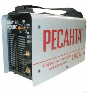 Сварочный аппарат ресанта 160,190,220,250'
