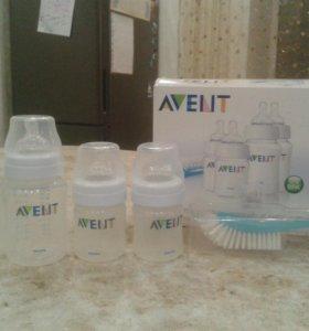 набор бутылочек AVENT