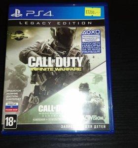 Call of Duty infinity warfare modern remasted