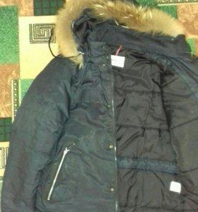 Куртка б/у, зимняя р.48-50