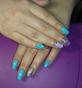 Покрытие своих ногтей гель-лаком