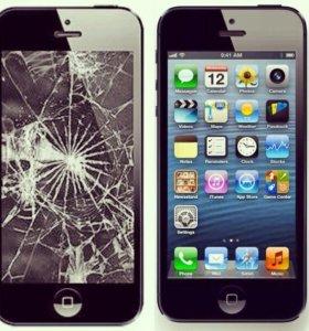 Недорого Замена дисплея/экрана/стекла iphone