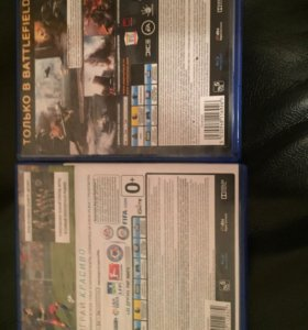 (FIFA 16) (BattleFild 4) Ps4