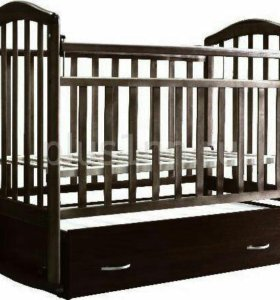 Кровать АЛИТА-4 поперечный маятник (цвет Венге)