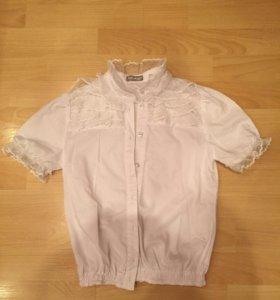 Блуза белая sabotage 140