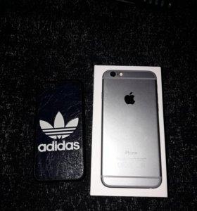 iPhone 6, space grey, 16gb, идеал, продаю, обмен