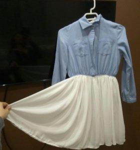 Стильное весеннее платье