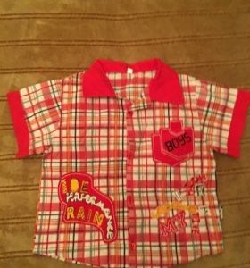 Рубашки для мальчика