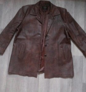 Куртка кожаная, 56-58рр