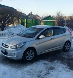 Продам машину Хундай Солярис 2011 года.1.6 л.с.