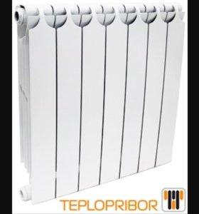 Биметаллический радиатор Теплоприбор БР-1 500/350