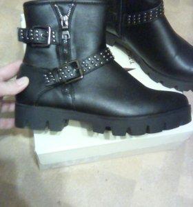 Новые!!! Демисезонные ботинки