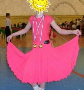 Рейтинговое платье для спортивно-балых танцев