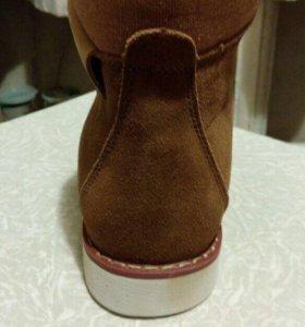 Ботинки демисезонные 40 размер