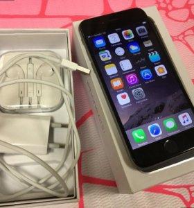 iPhone 6s 64gb черный. Новенький, с документами