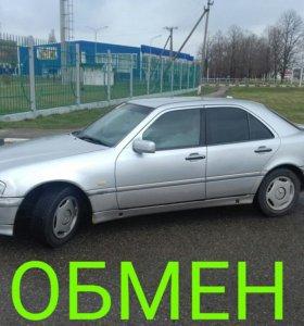 Mercedes C280 1998г.в.ОБМЕН