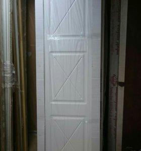 Дверь 60х200 купе (белая)