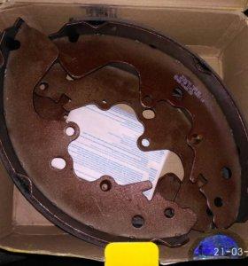 Колодки барабанные ручника textar 91068700 Suzuki