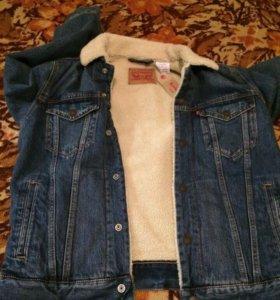 Мужская джинсовая куртка Levi's Sherpa