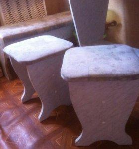 Стол,табуретки,скамейки