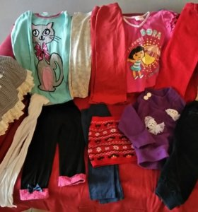 Много одежды рост 98-104