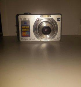 Фотоаппарат Sony Cyber-shot DSC-W100