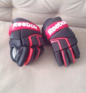 Хоккейная форма перчатки детские