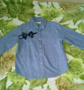 Джинсы +рубашка