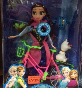 Frozen bike gerl