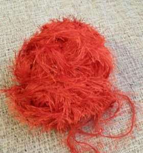 Нитки вязание травка