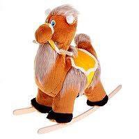 Мягкая качалка Верблюд