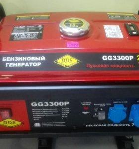 БензоГенератор DDE GG3300P