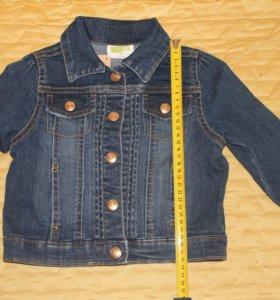 Crazy8. Джинсовая куртка для девочки на 3 года