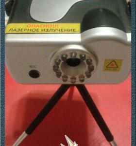 Мини лазерный проектор для дома и кафе