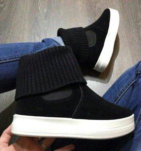 Ботинки под замш