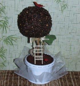 Топиарии на заказ (кофейное дерево)