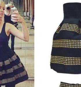 Новая юбка с высокой талией