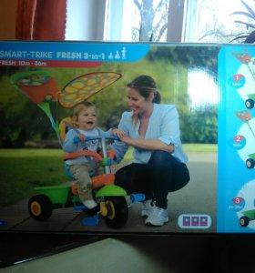 Детский велосипед smart trike fresh 3in1