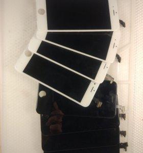Дисплеи на iphone 6(оригинал)