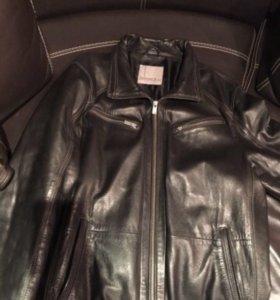Куртка мужская кожаная раз 50...Италия