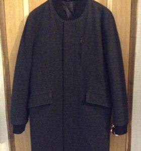 Удлиненное пальто-бомбер Zara (M)
