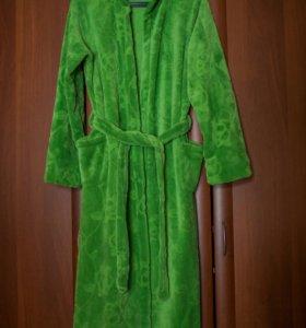 Плюшевый халат 40-46