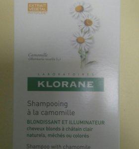 Шампунь Klorane с ромашкой