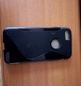 Новый силиконовый чехол на айфон 7
