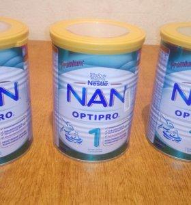 Молочная смесь NAN OPTIPRO 1