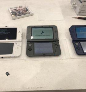 New Nintendo 3ds XL прошитые 32gb