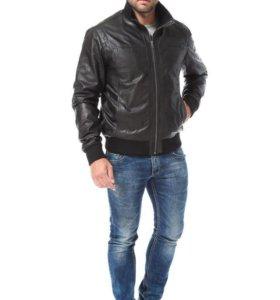 Мужская курточка натуральная кожа